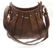 Brown Leather Across Body Bag