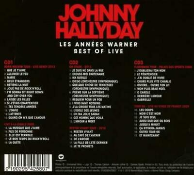 JOHNNY HALLYDAY - BEST OF 3CD NEW