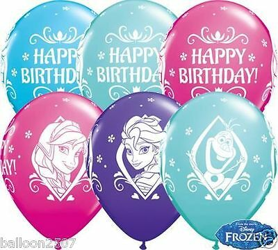 NEW Elsa Anna Olaf 5 x Disney Frozen Happy Birthday 11
