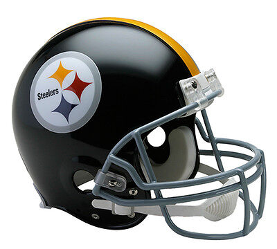 (PITTSBURGH STEELERS (1963-76 Throwback) Riddell Full-Size Authentic Helmet)