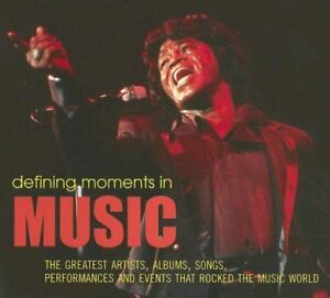Defining Moments In Music coffee table book