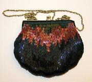 Metal Beaded Purse