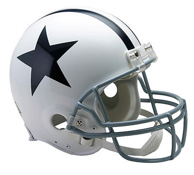 DALLAS COWBOYS 1960-1963 Riddell AUTHENTIC Throwback Football Helmet NFL 1960 Authentic Throwback Helmet