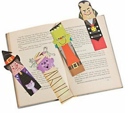 Halloween Reading Bookmarks (Halloween Bookmarks - Book Reading School Party Bag Fillers Pack Size 6 -)
