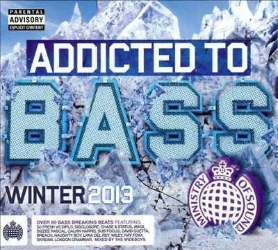 VARIOUS ARTISTS - MINISTRY OF SOUND: ADDICTED TO BASS WINTER 2013 NEW