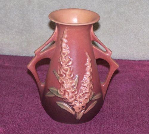 Roseville Foxglove Ebay
