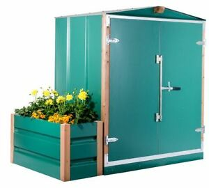 "Garden Sheds - Galvanised steel. 6' x 7' x 6'6"" Usable Space"