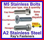 M5 Cap Head Bolts