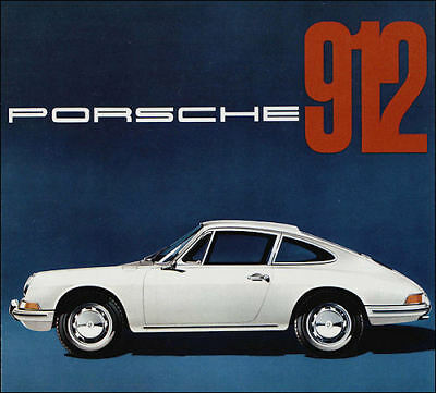 1966 Porsche 912, Refrigerator Magnet