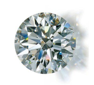 1 mal 0,12ct  E-F / IF-VVS   natürlicher Diamant Rund Brillant Brilliant