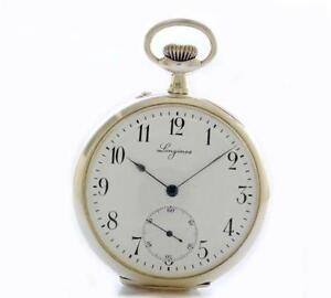 Watches, Parts & Accessories Cal 18.25 Vintage Longines Pocket Watch