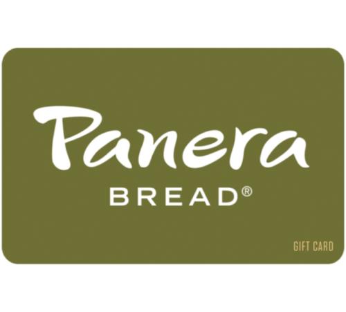 25 Panera Bread Gift Card - $22.00