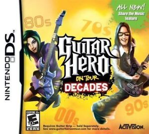 DS , Guitar Hero on Tour: Decades