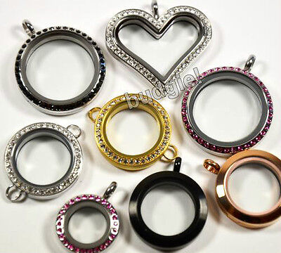 ORIGAMI OWL Lockets SOUTH HILL Round Heart LOCKET BOWL Gold Silver Black Rose