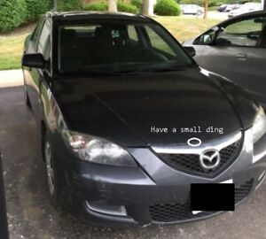 2007 Mazda3 Automatic A/C New All Season Tires  $2300 firm