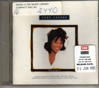 Cd311  Judy Cheeks  Respect   1995 Cd