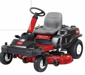 Toro SW5000 Zero Turn Ride On Mower 7 Months Old Hardly Used and Under Warranty