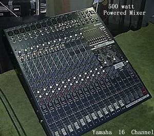 YAMAHA  EMX 5016 CF POWERED MIXER   500 W  a side Burrum Heads Fraser Coast Preview