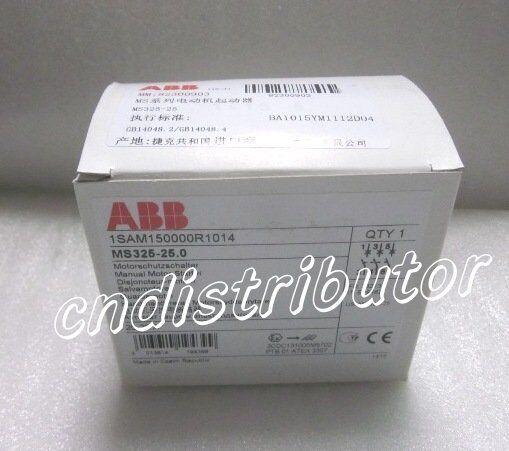 New In Box ABB Motor Starter MS325-25, 1-Year Warranty !