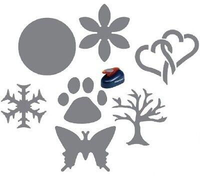 (Fiskars Medium Lever Shape Punch Craft Scrapbook SELECT YOUR DESIGN!)