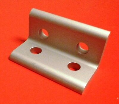 8020 Inc Equivalent Aluminum 4 Hole Inside Corner Bracket 10 Series Pn 4113 New
