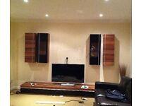 7 piece TV/living room cabinet set