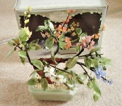 The Leonardo bonsai tree collection, Glass bonsai tree,original box