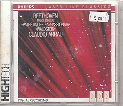 Beethoven Piano Sonatas Pathetique Appassionata Waldstein Arrau ()