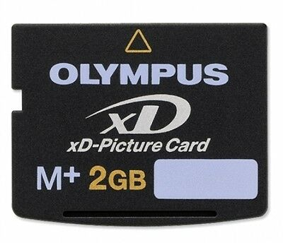 Olympus 2GB XD Picture Card Type M+  M-XD2GMP For OLYMPUS or FUJIFILM Camera 2 Gb Picture Card