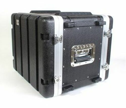 NEW! Rack Case 8U Space Medium 12 Inch Deep Light Weight ABS Economical w Screws