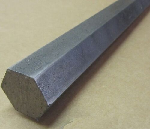1018 Carbon Steel Hex Rod 25 mm Hex  x 3 Foot Length