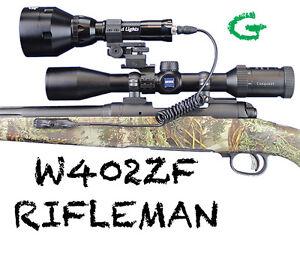 Wicked Lights W402ZF Rifleman Kit W/ Green LED for predator & hog night hunting