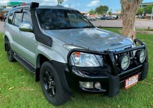 2006 Toyota Landcruiser Prado KDJ120R GXL Silver 5 Speed Automatic Wagon Berrimah Darwin City Preview
