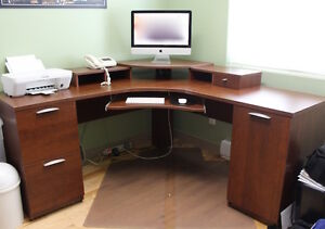 QUALITY L-SHAPE DESK