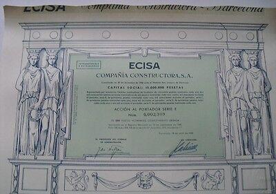 ECISA Compania Constructora S.A 1958   Barcelona  DEKO