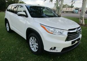 2014 Toyota Kluger GSU50R GX 2WD White 6 Speed Sports Automatic Wagon Hidden Valley Darwin City Preview