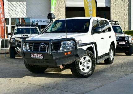2012 Toyota Landcruiser VDJ200R MY12 GX White 6 Speed Sports Automatic Wagon East Brisbane Brisbane South East Preview
