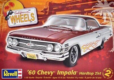 Revell Monogram 1960 Chevrolet Impala Hardtop 2 'n 1 Plastic Model Kit 1/25