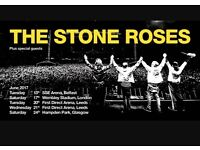 2 seated tickets for Stone Roses at Leeds
