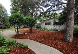 REDUCED!! Open Beam Bungalow with Mature Yard