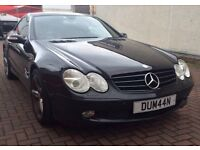 Mercedes SL Convertible Low Mileage Long Mot