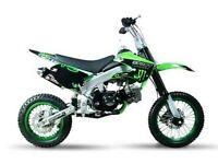Brand New 125cc Dirt Pit Bike