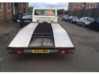 TRANSIT RECOVERY TRUCK LWB& ALLOY BED