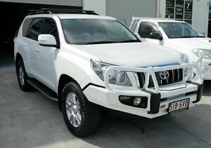 2012 Toyota Landcruiser Prado KDJ150R VX White 5 Speed Sports Automatic Wagon Capalaba West Brisbane South East Preview