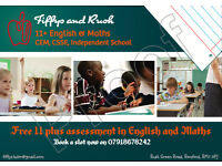 11 plus and 13 plus English & Maths Tuition (1-2-1 and group tutoring)