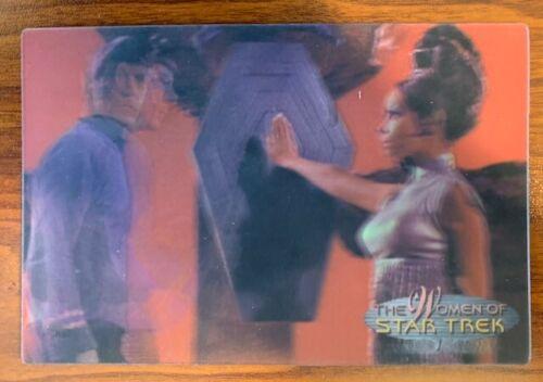 2000 Rittenhouse Women of Star Trek in Motion #30 T Pring Free Shipping