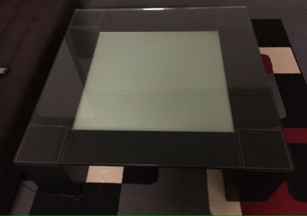 Tampered glass heavy duty coffee table and delivery
