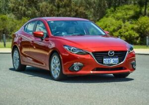 2014 Mazda 3 BM5238 SP25 SKYACTIV-Drive GT Red 6 Speed Sports Automatic Sedan Cannington Canning Area Preview