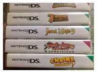 5 x DS GAMES