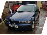 BMW 318I SE 2LITRE PETROL MANUAL spares or repair drive away. drift car